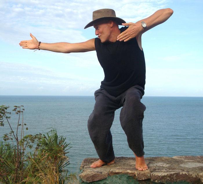 maîtrise de soi: la photo d'un homme motivé