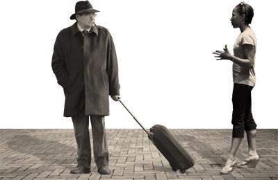 Assertivité: deux personnes discutent entre elles